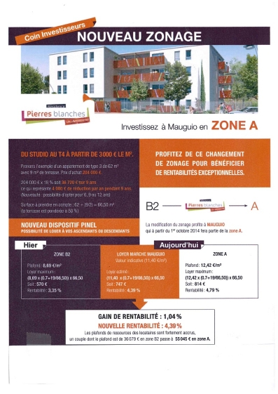 Programmes immobilier neufs pierres blanches programme for Programme achat neuf