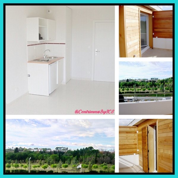 Photo du bien immobilier  : Location vide appartement f2 montpellier nord