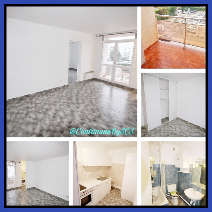 Photo du bien immobilier  : Location appartement f2 montpellier ouest