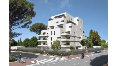 Photo du bien immobilier  : Programme neuf montpellier estanove prix direct promoteur