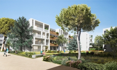 Photo du bien immobilier  : Programme neuf montpellier prix direct promoteur appartement t2