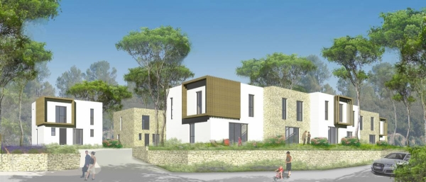 Photo du bien immobilier  : Programme neuf grabels maison t4 prix direct promoteur