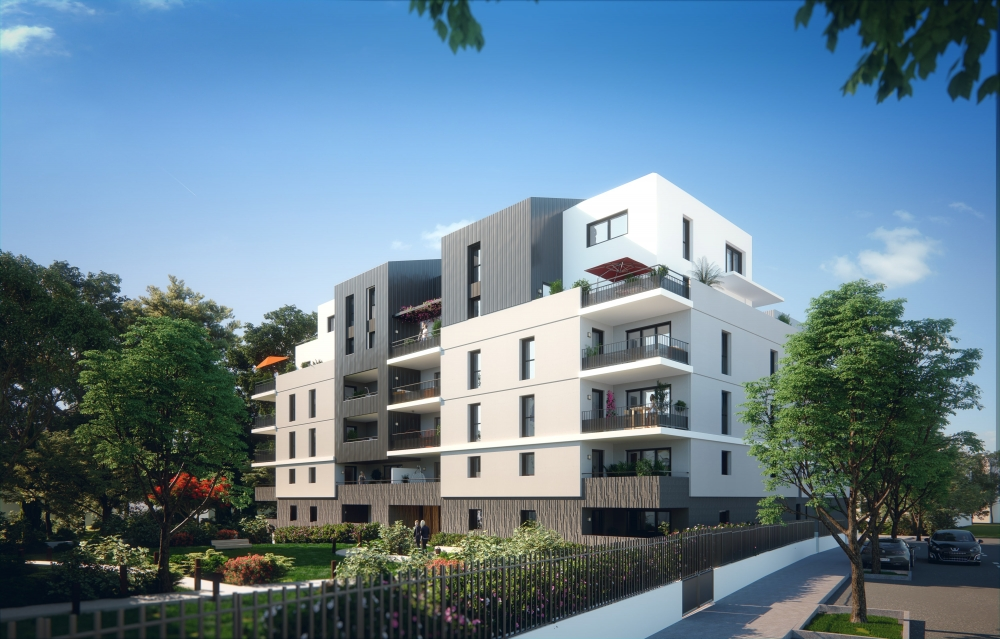 Photo du bien immobilier  : Programme neuf montpellier prix direct promoteur appartement t5 en duplex